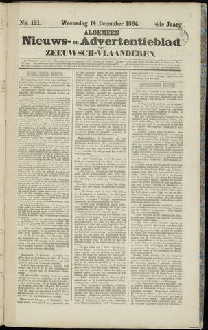 Ter Neuzensche Courant. Algemeen Nieuws- en Advertentieblad voor Zeeuwsch-Vlaanderen / Neuzensche Courant ... (idem) / (Algemeen) nieuws en advertentieblad voor Zeeuwsch-Vlaanderen 1864-12-14