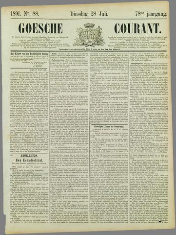 Goessche Courant 1891-07-28