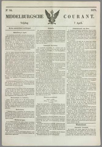 Middelburgsche Courant 1871-04-07