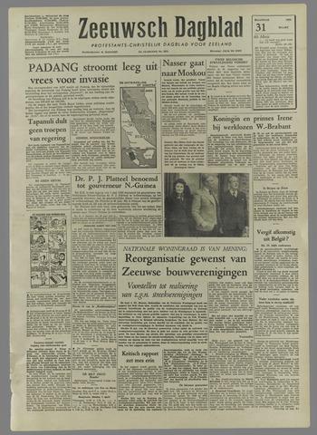 Zeeuwsch Dagblad 1958-03-31