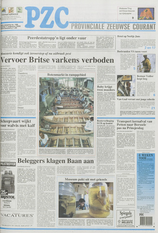 Provinciale Zeeuwse Courant 2000-08-11