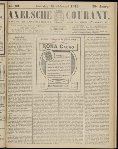 Axelsche Courant 1913-02-15