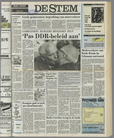 de Stem 1989-10-07