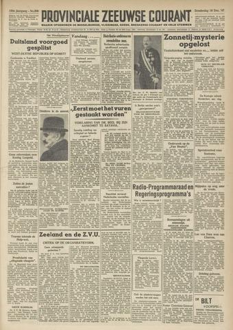 Provinciale Zeeuwse Courant 1947-12-18