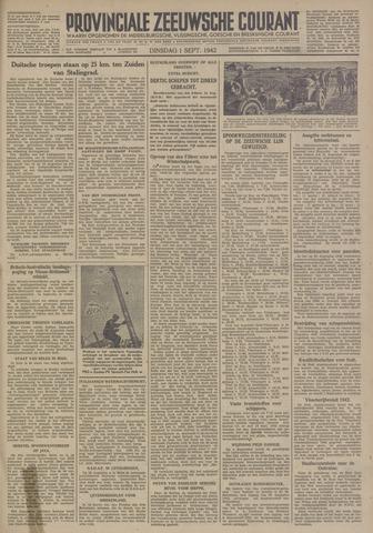 Provinciale Zeeuwse Courant 1942-09-01