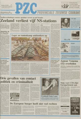 Provinciale Zeeuwse Courant 1993-11-02