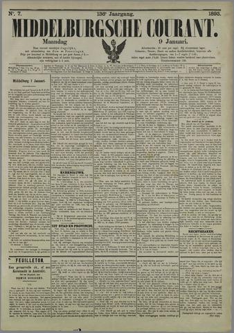 Middelburgsche Courant 1893-01-09