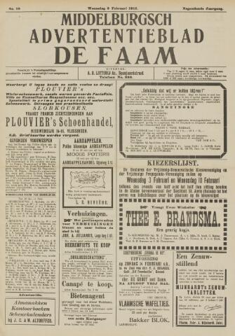 de Faam en de Faam/de Vlissinger 1915-02-03