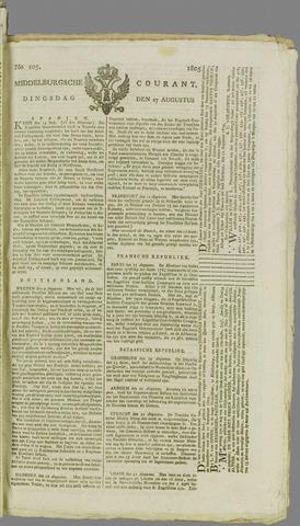 Middelburgsche Courant 1805-08-27