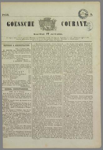 Goessche Courant 1853-01-17