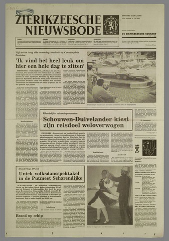 Zierikzeesche Nieuwsbode 1987-07-21