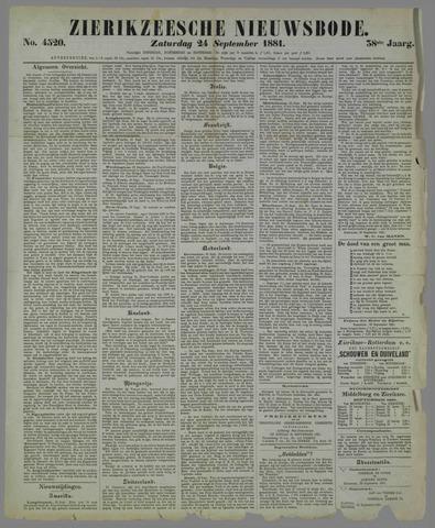 Zierikzeesche Nieuwsbode 1881-09-24