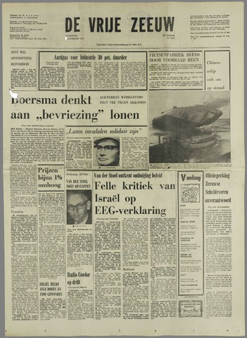 de Vrije Zeeuw 1973-11-07