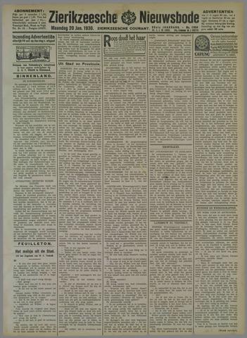 Zierikzeesche Nieuwsbode 1930-01-20