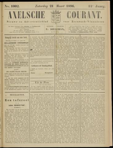 Axelsche Courant 1896-03-21