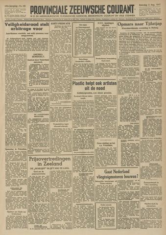 Provinciale Zeeuwse Courant 1947-08-02