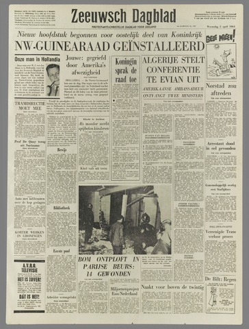 Zeeuwsch Dagblad 1961-04-05