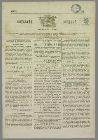 Goessche Courant 1850-07-25