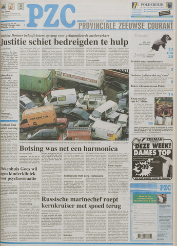 Provinciale Zeeuwse Courant 2004-03-24