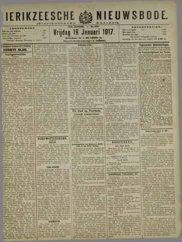 Zierikzeesche Nieuwsbode 1917-01-19