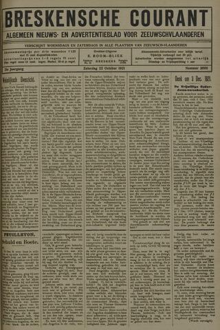 Breskensche Courant 1921-10-22