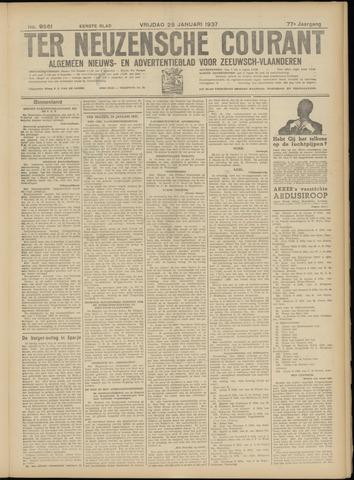 Ter Neuzensche Courant. Algemeen Nieuws- en Advertentieblad voor Zeeuwsch-Vlaanderen / Neuzensche Courant ... (idem) / (Algemeen) nieuws en advertentieblad voor Zeeuwsch-Vlaanderen 1937-01-29