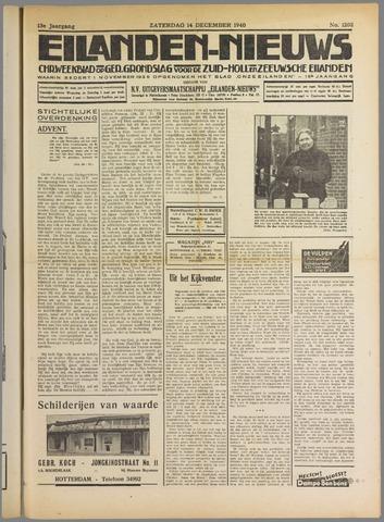 Eilanden-nieuws. Christelijk streekblad op gereformeerde grondslag 1940-12-14
