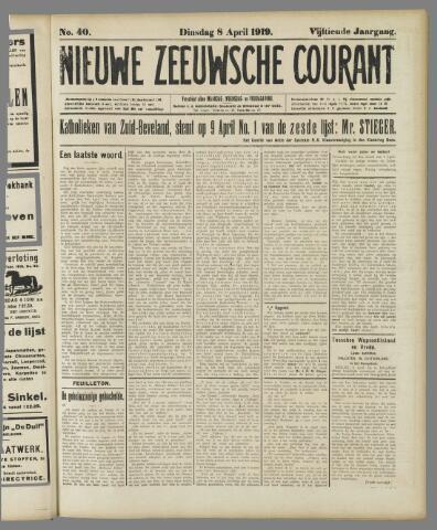 Nieuwe Zeeuwsche Courant 1919-04-08