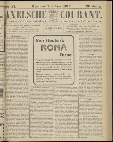 Axelsche Courant 1912-10-09