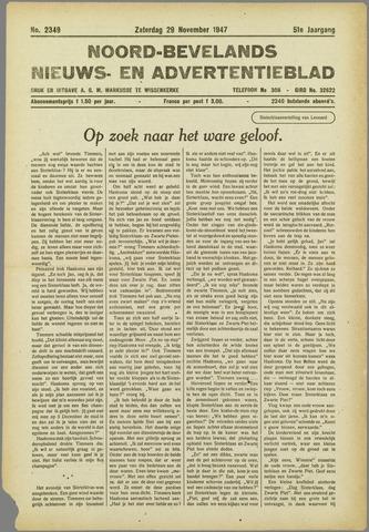 Noord-Bevelands Nieuws- en advertentieblad 1947-11-29
