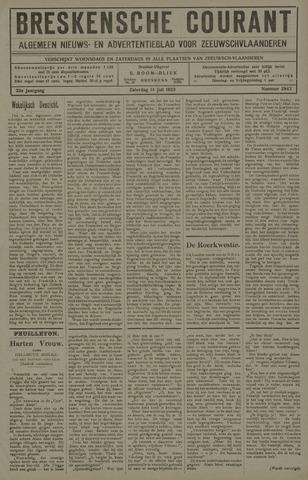 Breskensche Courant 1923-07-14