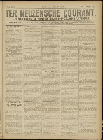 Ter Neuzensche Courant. Algemeen Nieuws- en Advertentieblad voor Zeeuwsch-Vlaanderen / Neuzensche Courant ... (idem) / (Algemeen) nieuws en advertentieblad voor Zeeuwsch-Vlaanderen 1926-03-01