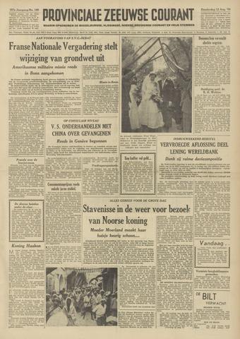 Provinciale Zeeuwse Courant 1954-08-12