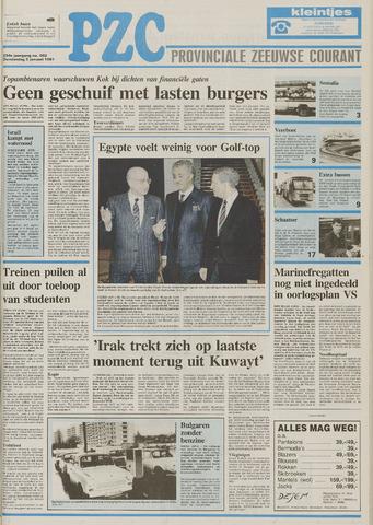 Provinciale Zeeuwse Courant 1991-01-03