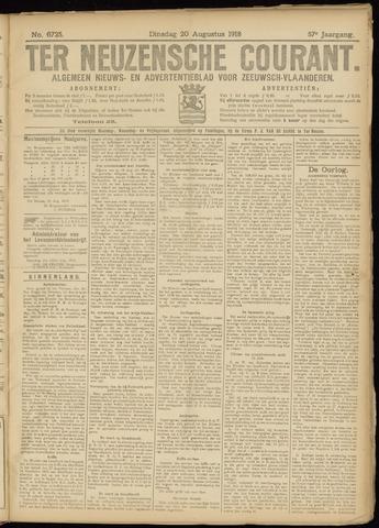 Ter Neuzensche Courant. Algemeen Nieuws- en Advertentieblad voor Zeeuwsch-Vlaanderen / Neuzensche Courant ... (idem) / (Algemeen) nieuws en advertentieblad voor Zeeuwsch-Vlaanderen 1918-08-20