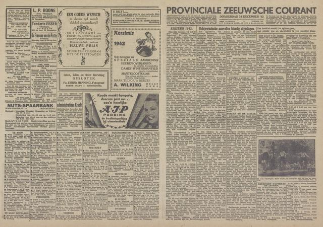 Provinciale Zeeuwse Courant 1942-12-24