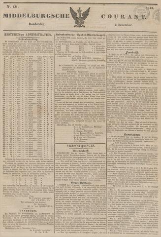 Middelburgsche Courant 1843-11-02