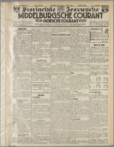 Middelburgsche Courant 1934-04-07