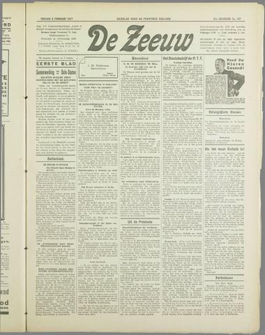De Zeeuw. Christelijk-historisch nieuwsblad voor Zeeland 1937-02-05