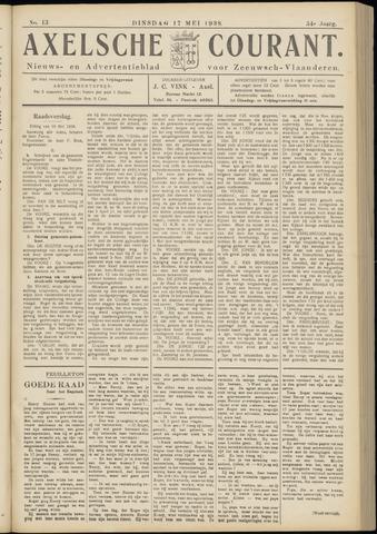 Axelsche Courant 1938-05-17