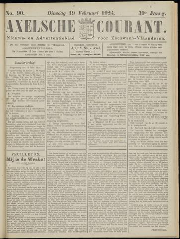 Axelsche Courant 1924-02-19