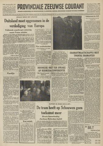 Provinciale Zeeuwse Courant 1953-11-21