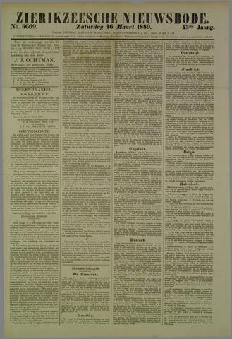 Zierikzeesche Nieuwsbode 1889-03-16