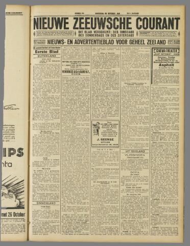 Nieuwe Zeeuwsche Courant 1929-10-26