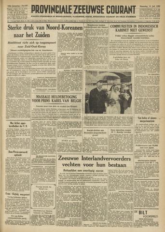 Provinciale Zeeuwse Courant 1950-07-10