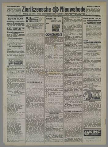 Zierikzeesche Nieuwsbode 1933-12-22