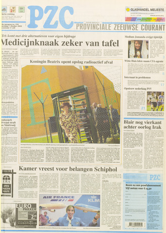 Provinciale Zeeuwse Courant 2003-10-01