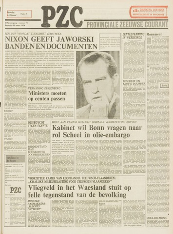 Provinciale Zeeuwse Courant 1974-03-30