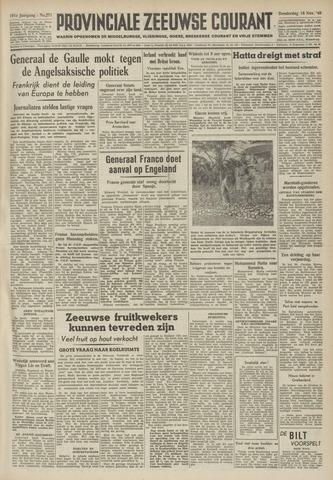 Provinciale Zeeuwse Courant 1948-11-18