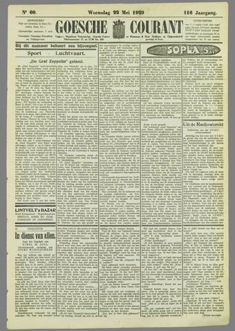Goessche Courant 1929-05-22